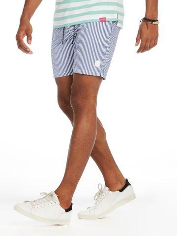 Scotch & Soda | Blue Striped Casual Shorts