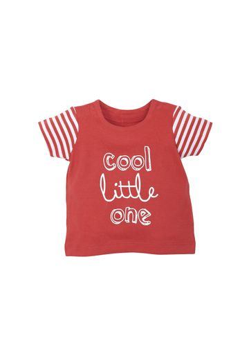 Mothercare | Boys Half Sleeves T-Shirt Text Print - Red