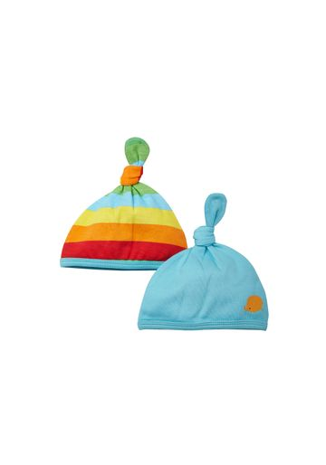 Mothercare | Unisex  Hat Striped - Pack Of 2 - Multicolor