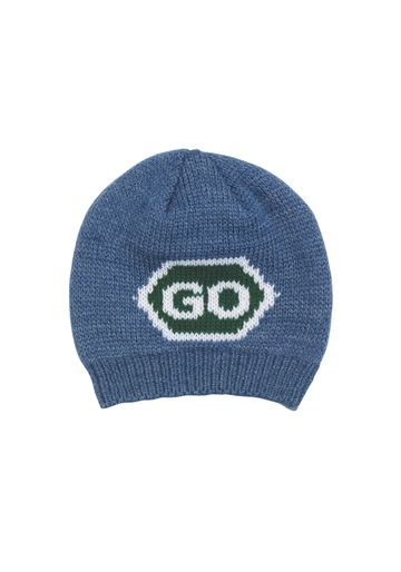 Mothercare   Boys Beanie Text Pattern - Blue