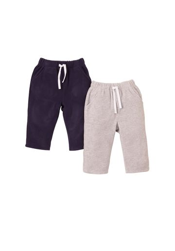 Mothercare | Boys Fleece Joggers - Pack Of 2 - Multicolor