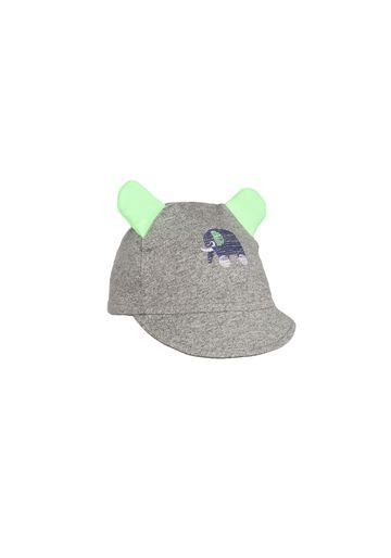 Mothercare   Boys Cap 3D Ear Details - Grey