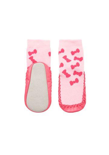 Mothercare | Girls Socks Bow Pattern - Pink