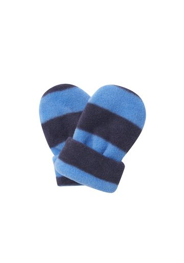 Mothercare   Boys Mitts Striped - Blue