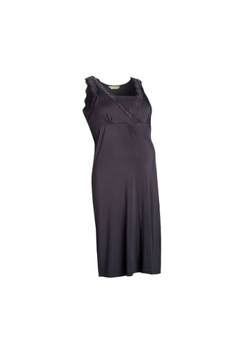 Mothercare | Women Sleeveless Maternity Nightdress Lace Detail - Purple
