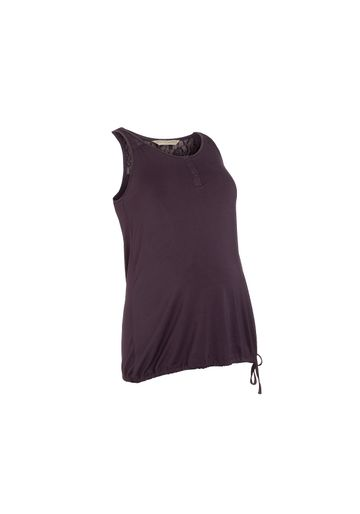 Mothercare   Women Sleeveless Maternity Top Lace Detail - Purple