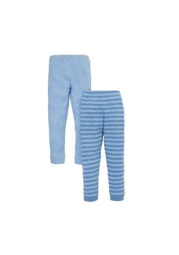 Mothercare   Boys Thermal Leggings Striped - Pack Of 2 - Blue