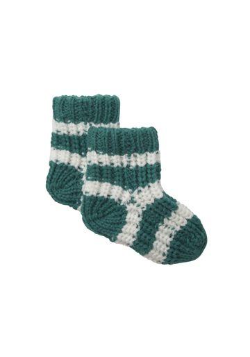 Mothercare | Boys Socks Chunky Knit - Green