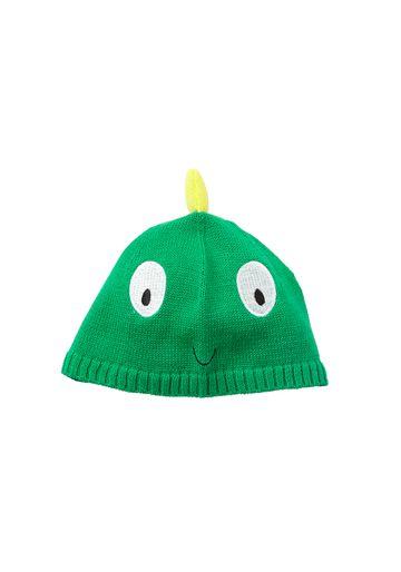 Mothercare | Boys Beanie 3D Dino Spikes - Green