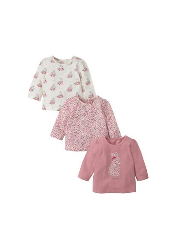 Mothercare | Girls Trousers Embroidered - Pink