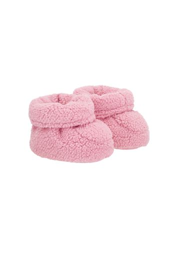 Mothercare | Girls  Fluffy Baggies - Pink