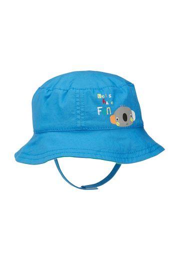 Mothercare | Boys Hat With Ties Koala Print - Blue