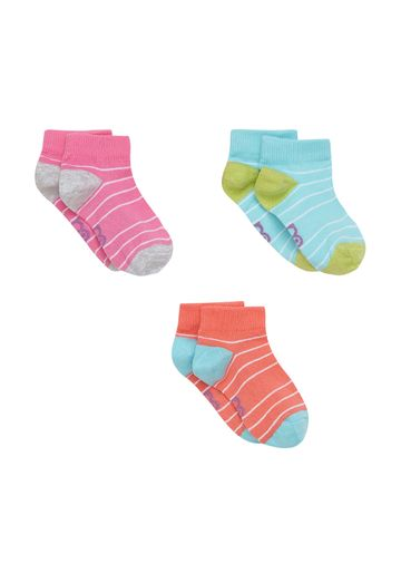Mothercare | Girls  Socks Striped - Pack Of 3 - Multicolor