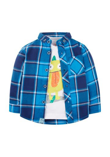 Mothercare | Girls Sleeveless Dress Lemon Print - Multicolor