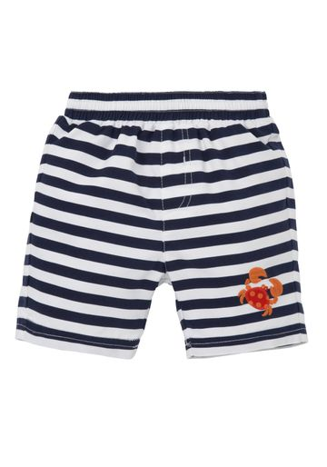Mothercare   Boys Swimming Shorts Striped - White