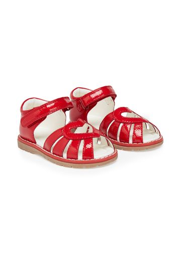 Mothercare | Girls Sandals Heart Design - Red
