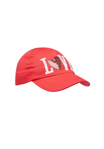 Mothercare | Girls Cap Sequined Design - Red