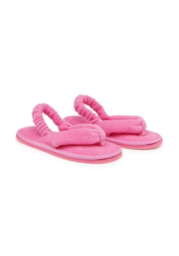 Mothercare | Girls Toe Thong Slippers