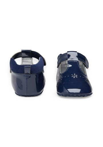 Mothercare | Girls Cut Out Shoes - Navy