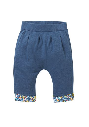 Mothercare | Girls Ditsy Floral Trim Joggers - Navy