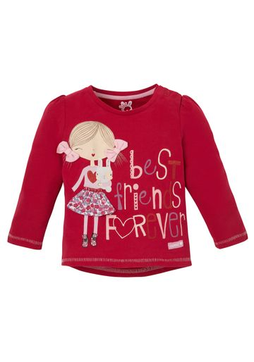Mothercare | Girls Full Sleeves T-Shirt 3D Bow Details - Red