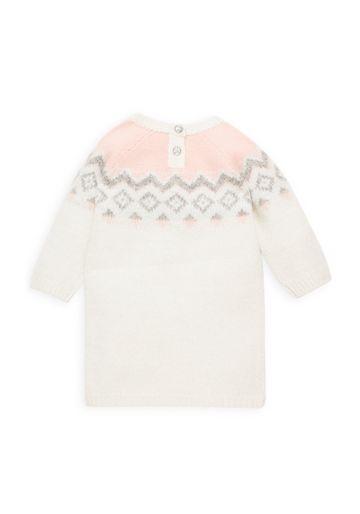 Mothercare | Girls Farisle Dress - Cream