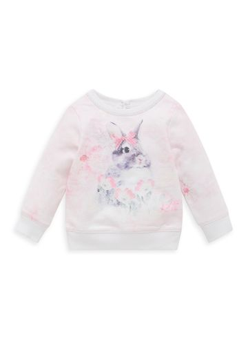 Mothercare | Girls Photographic Bunny Top - Pink