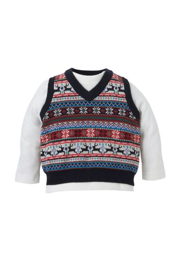 Mothercare | Boys Fairisle Top Set - Multicolor