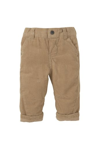 Mothercare   Boys Cord Trousers Jersey Lined - Brown