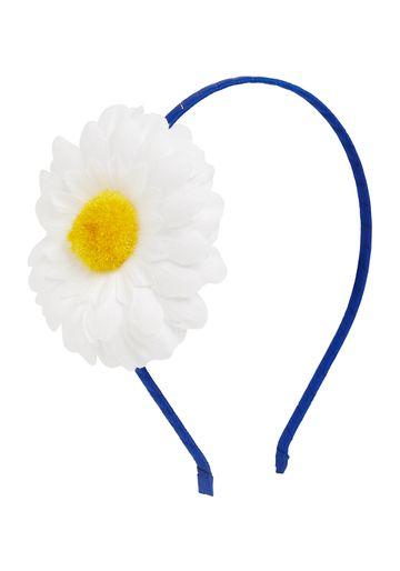 Mothercare   Girls Hairband Flower Detail - Blue