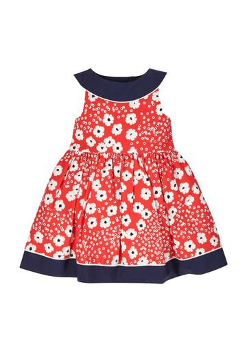 Mothercare   Girls  Floral Dress - Red