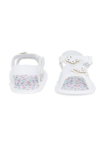 Mothercare | Girls Butterfly Sandals - White