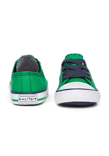 Mothercare | Boys Canvas Shoes - Green