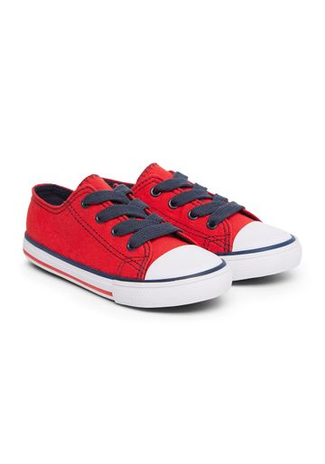 Mothercare | Boys Red Canvas Shoes