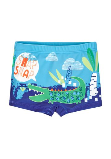 Mothercare | Boys Swimming Shorts Crocodile Print - Blue