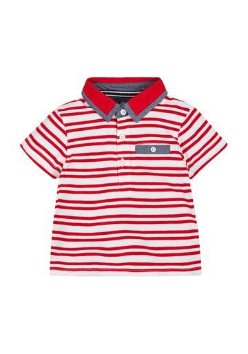 Mothercare | Red Boys Stripe Polo Top