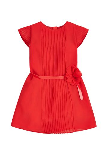 Mothercare | Girls Pintuck Dress - Red