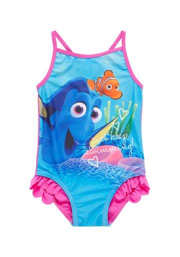 Mothercare | Girls Disney Finding Dory Swimsuit - Blue