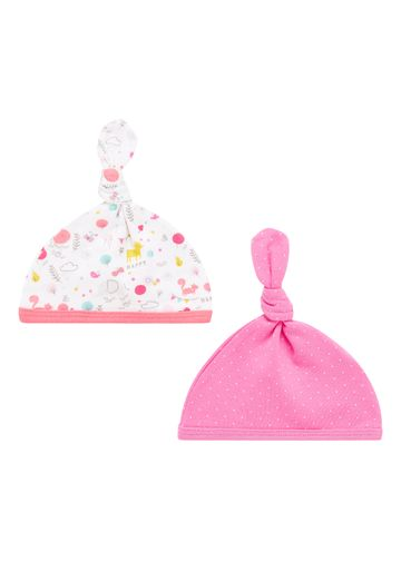 Mothercare | Girls Woodland Hats - Pack Of 2 - Multicolor