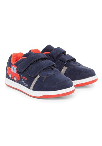 Mothercare | Boys Trainer Shoes Car Design - Navy