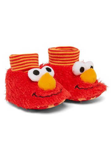 Mothercare | Unisex Sesame Street Elmo Booties - Red