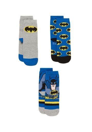 Mothercare | Boys  Socks Batman Design - Pack Of 3 - Multicolor