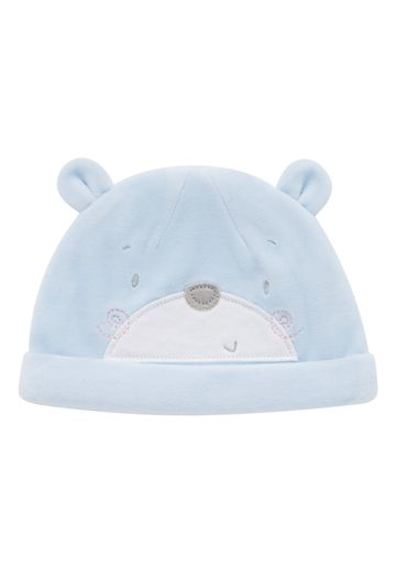 Mothercare | Boys Bear Hat 3D Detail - Blue