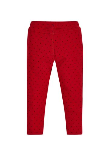 Mothercare | Girls Heart Jeggings - Red