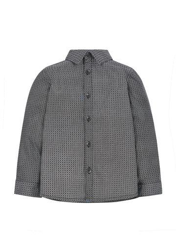 Mothercare   Boys Geo Shirt - Black