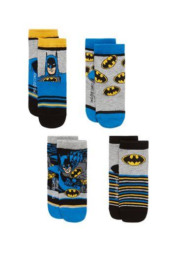 Mothercare   Boys Socks Batman Design - Pack Of 4 - Multicolor
