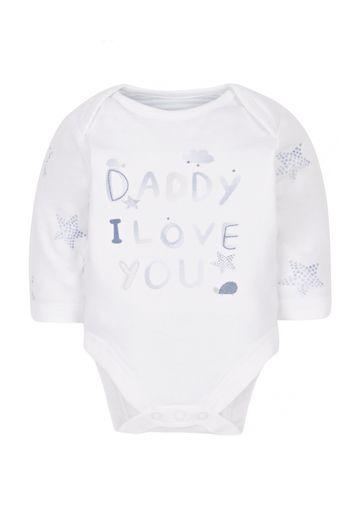 Mothercare | Boys Daddy Bodysuit