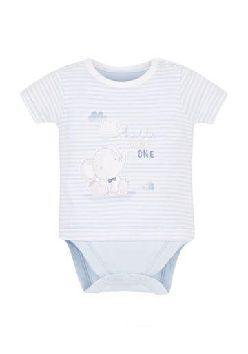Mothercare | Boys Mock T-Shirt Bodysuit - Multicolor