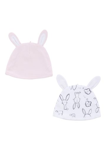Mothercare | Girls Bunny Hats - Pack Of 2