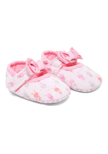 Mothercare | Girls Bunny Mary Jane Shoes - Pink